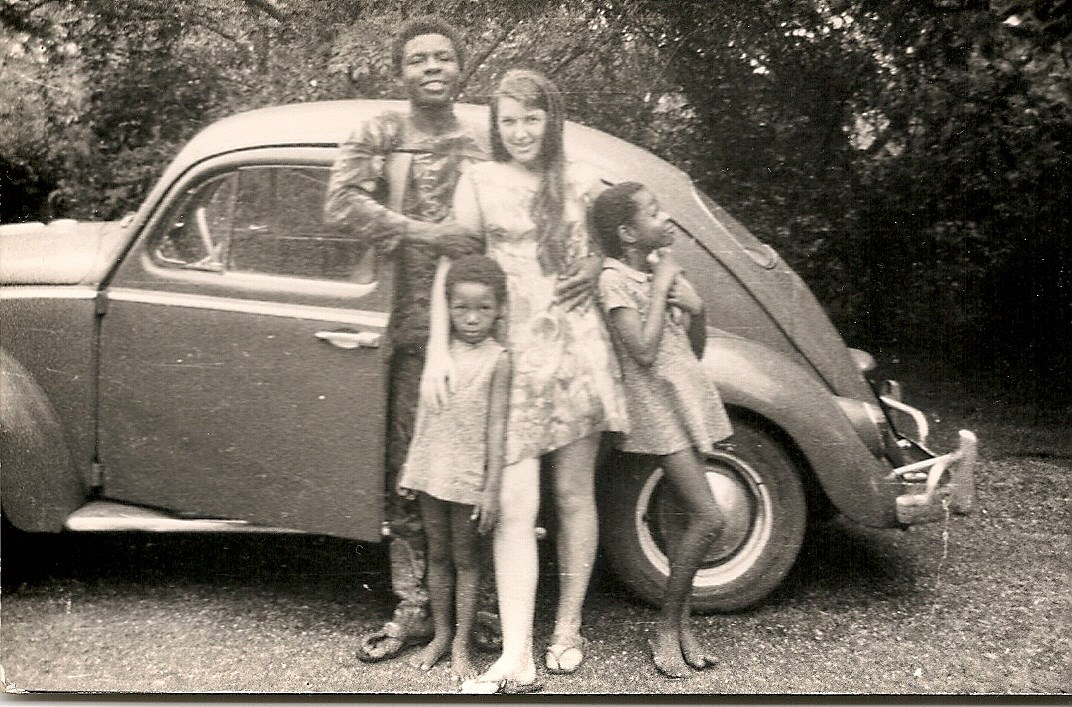 Iyetade and Moremi with Uncle Kayode and Aunty Susan, UI 1970
