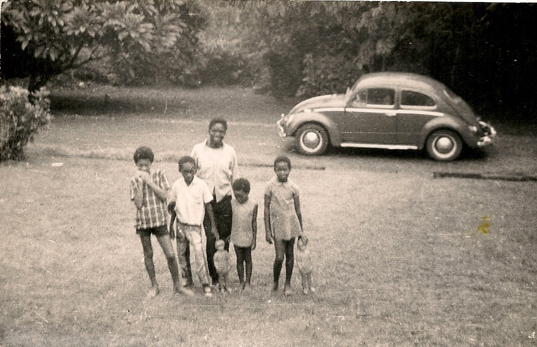 Olaokun, left, Iyetade and Moremi, right, UI 1970