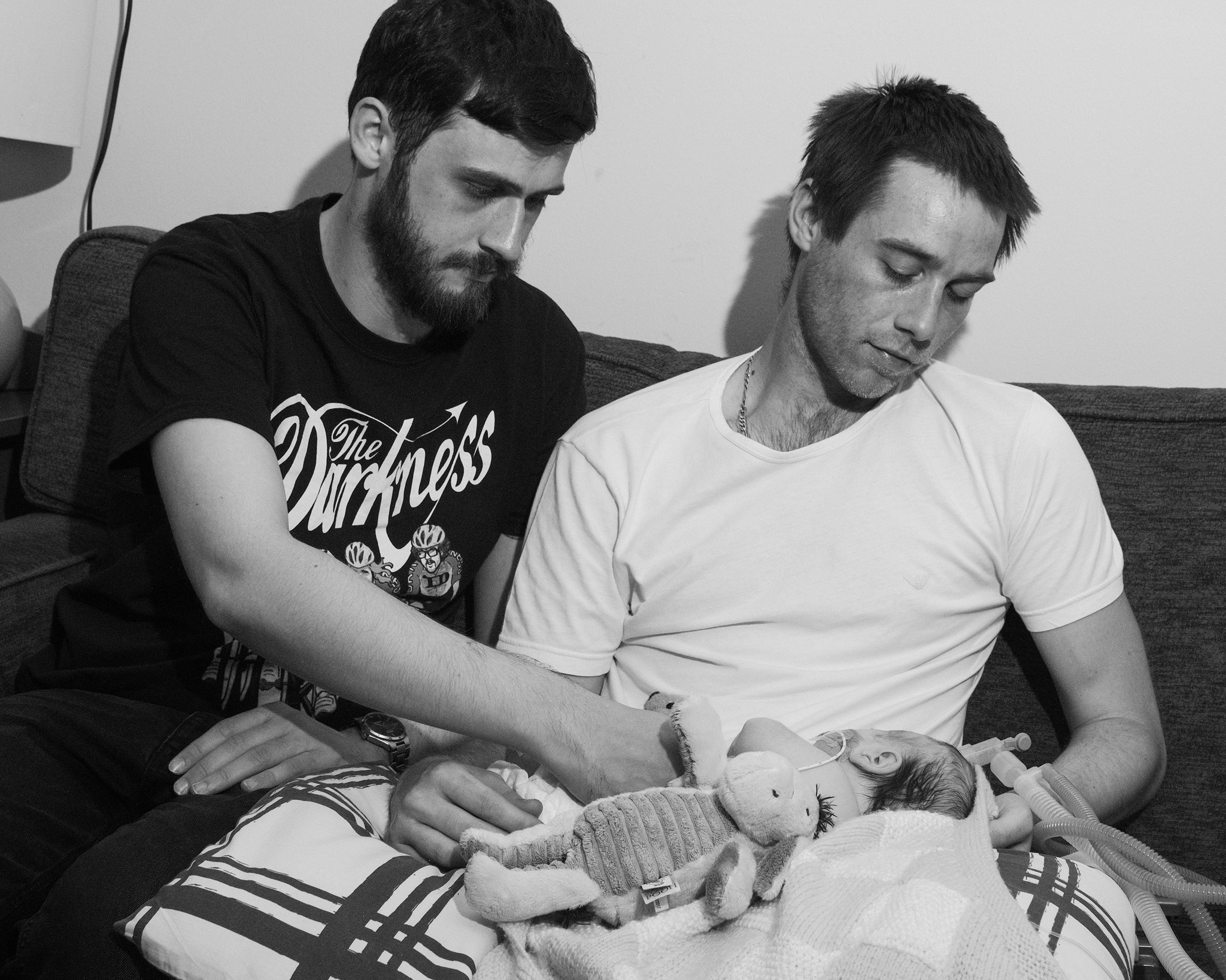 Uncle George, Daddy and Codie