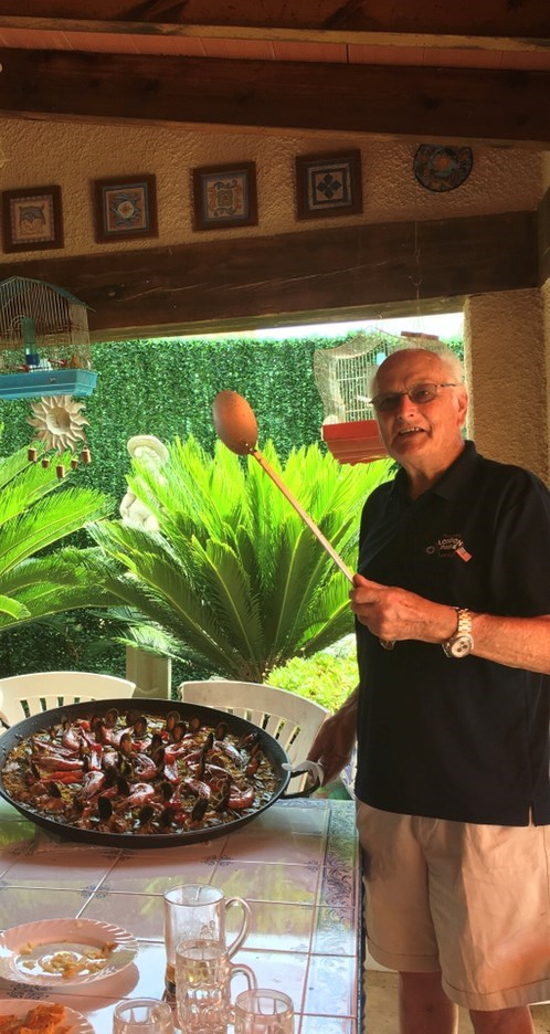 Spain and paella