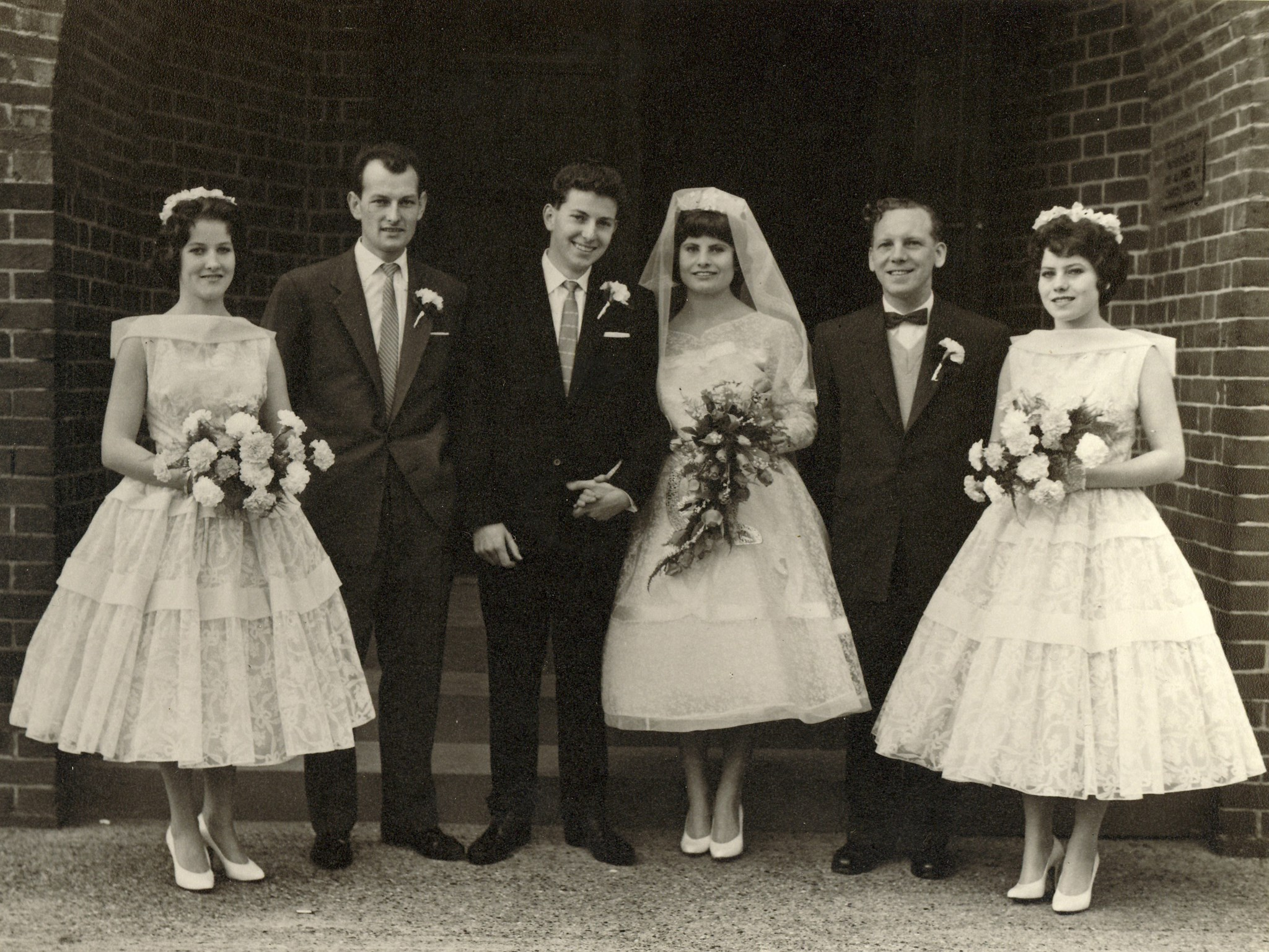 Diane, Peter, Ray, Irene, Tom and Jean