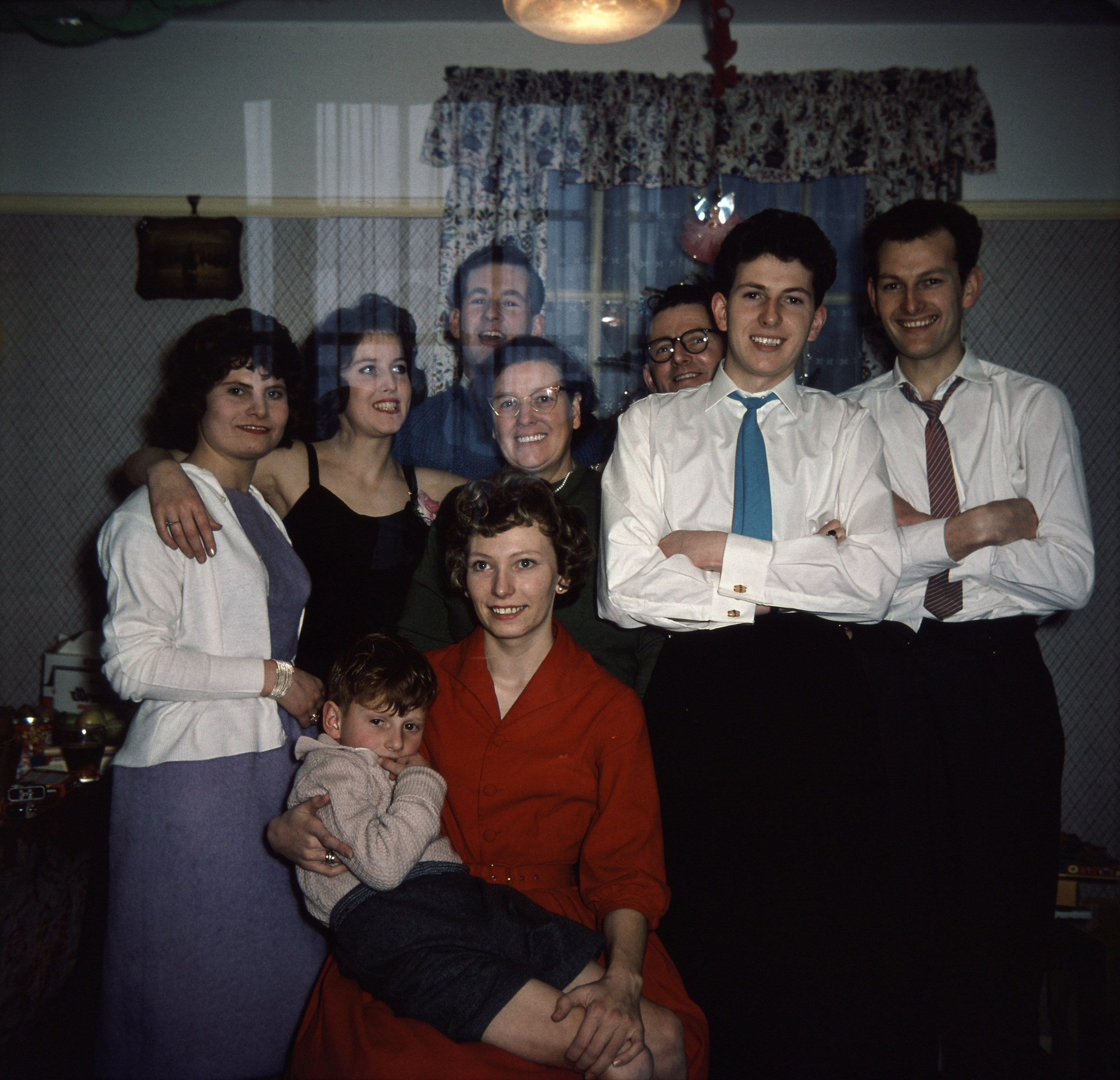 Peter, Lena and family
