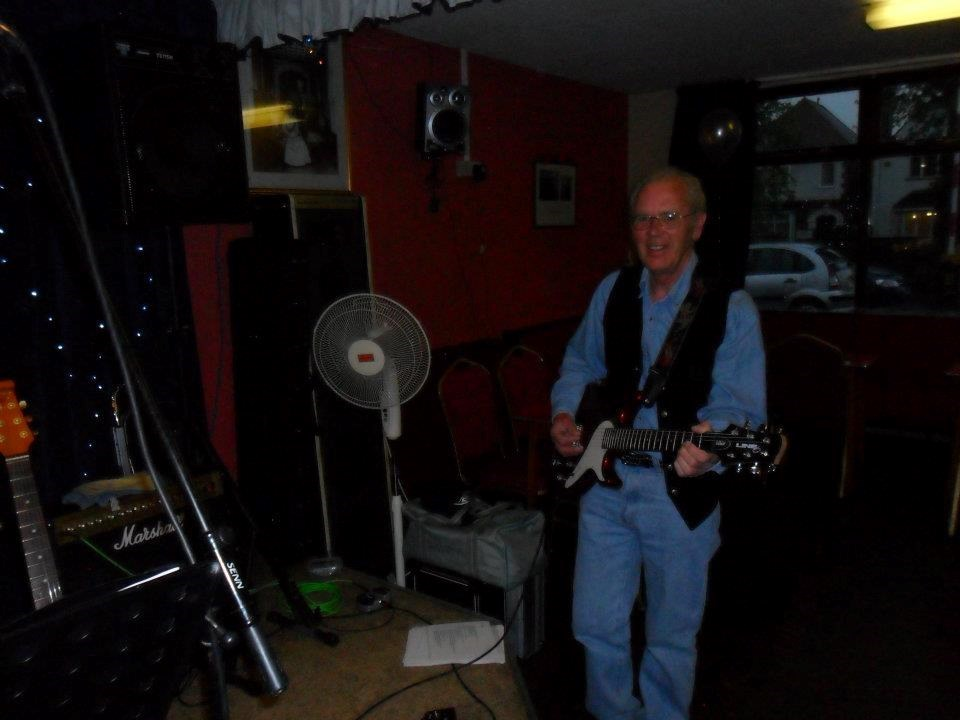 """DAVE BRETTELL  AT K.FORD LEGION WITH THE """"SMOKEY JOE COUNTRY BAND""""."""