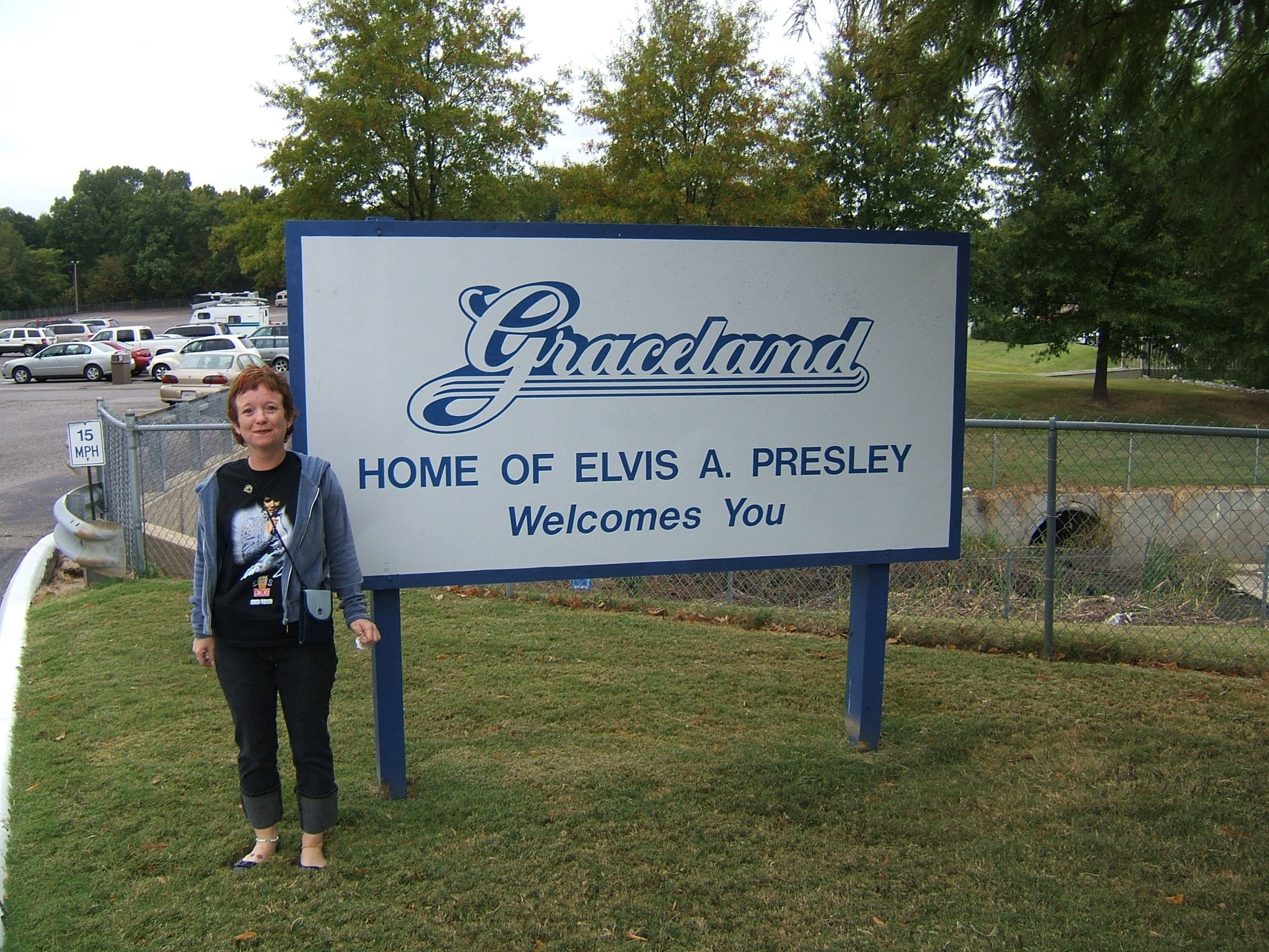 Arriving at Graceland October 2005