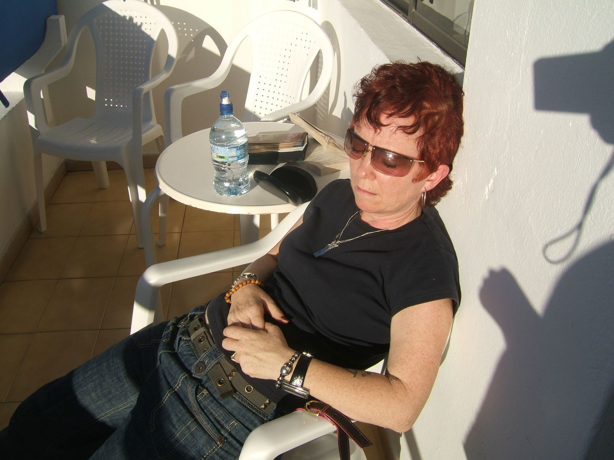 Carol   Relaxing in Gran Canaria December 2009