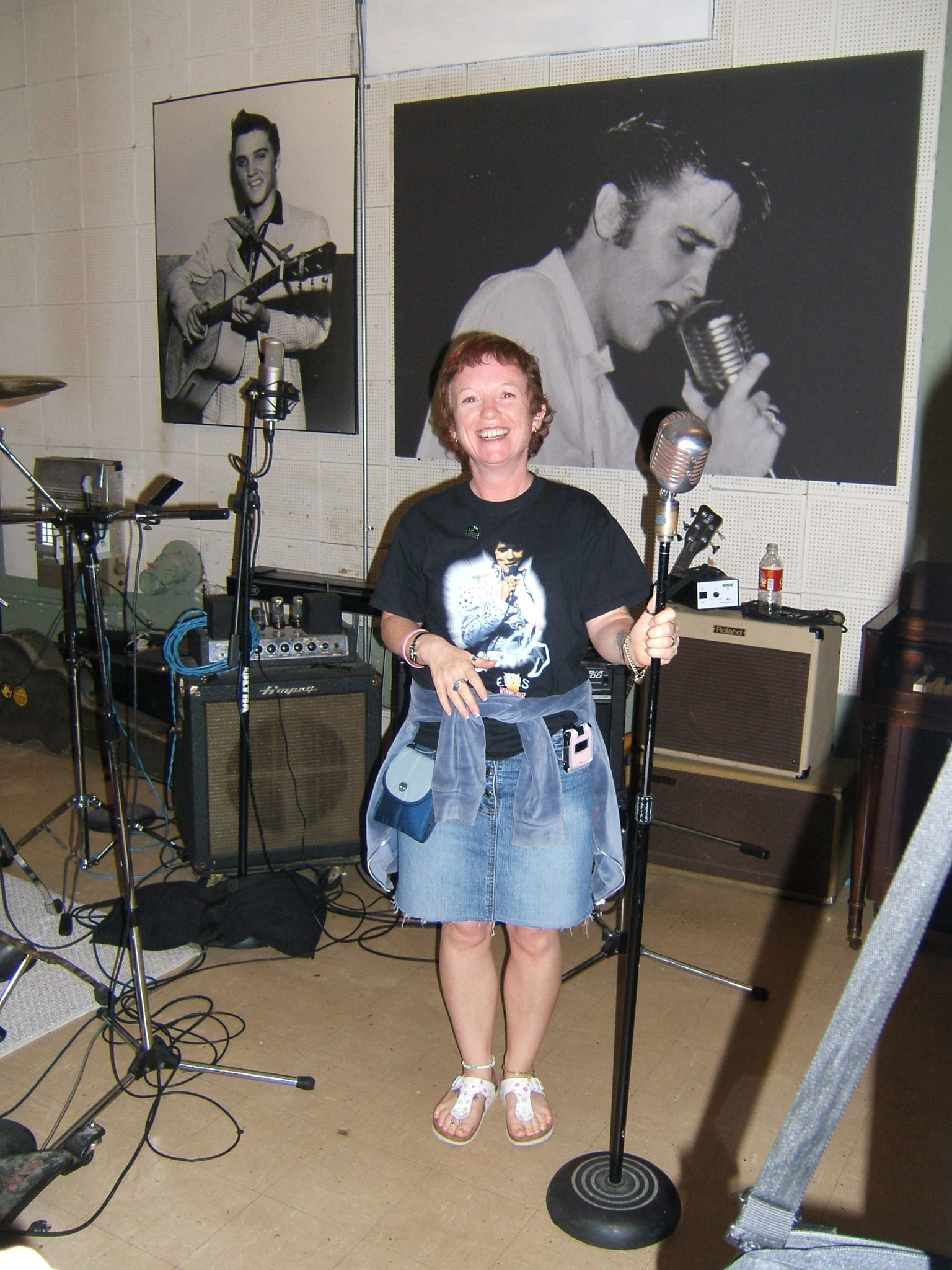 Carol   Sun Studio   Memphis October 2005