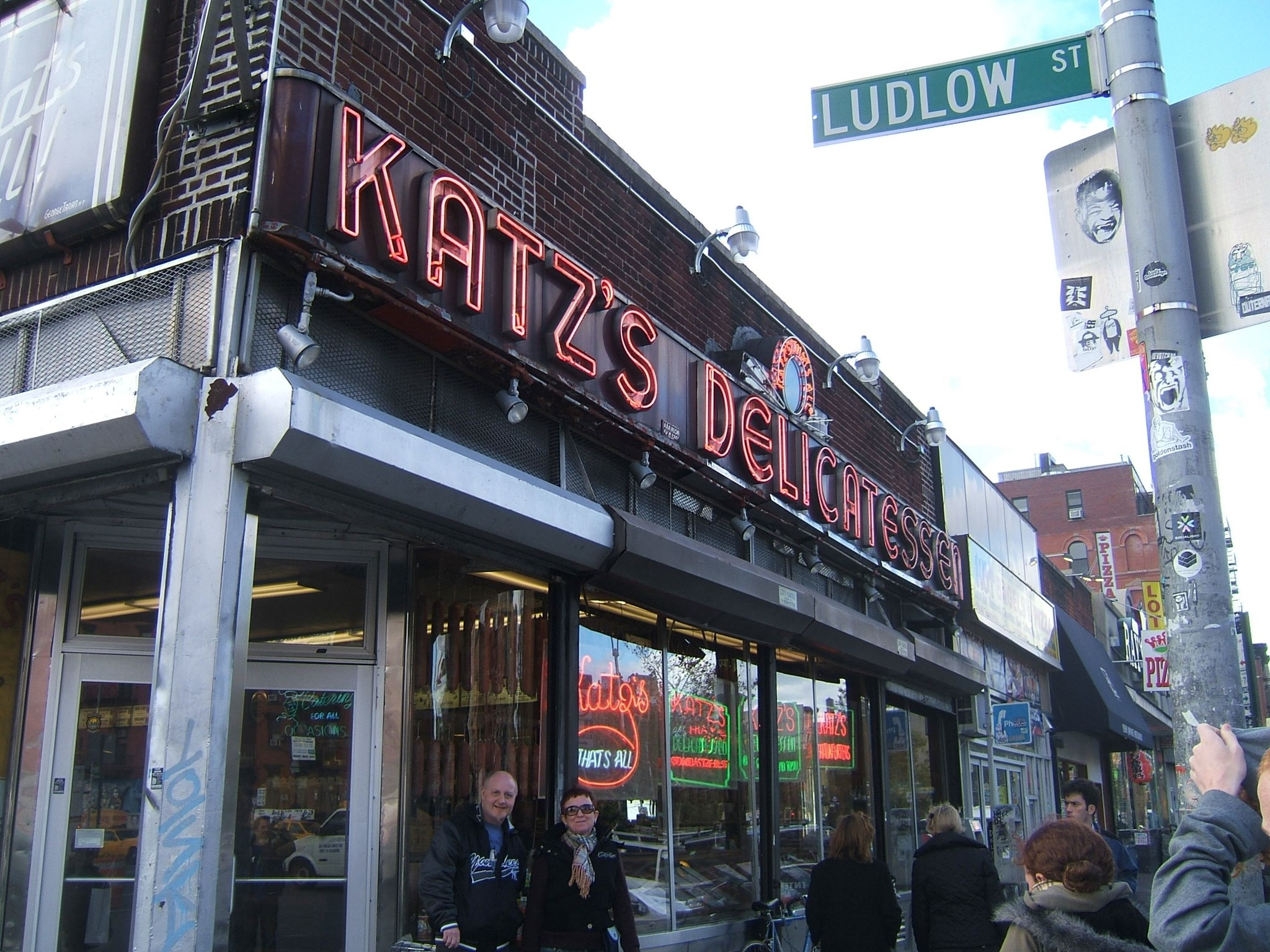 Katz's Deli   (Where Harry Met Sally!!)   October 2006