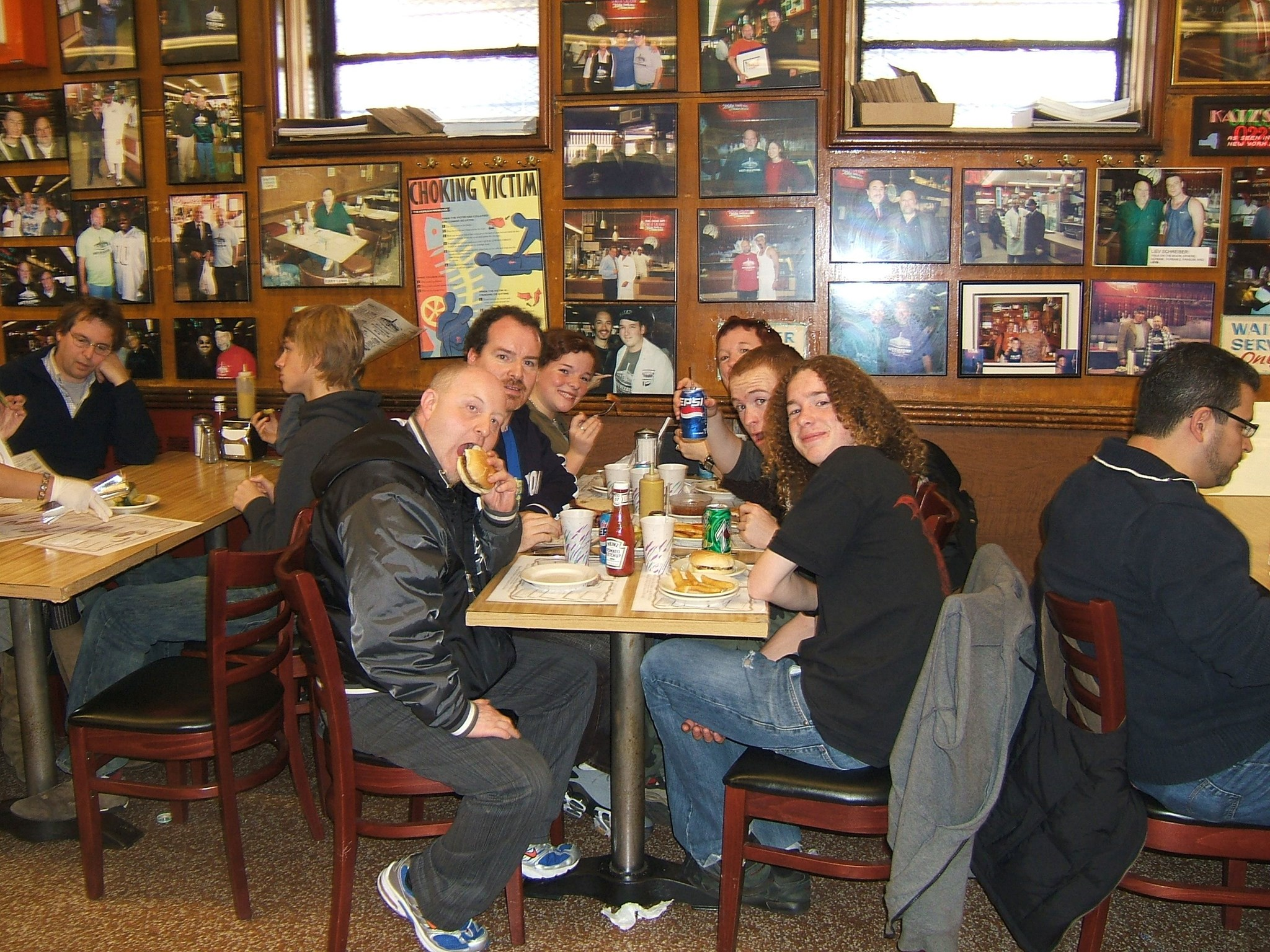 Katz's Deli   The Crowd October 2006