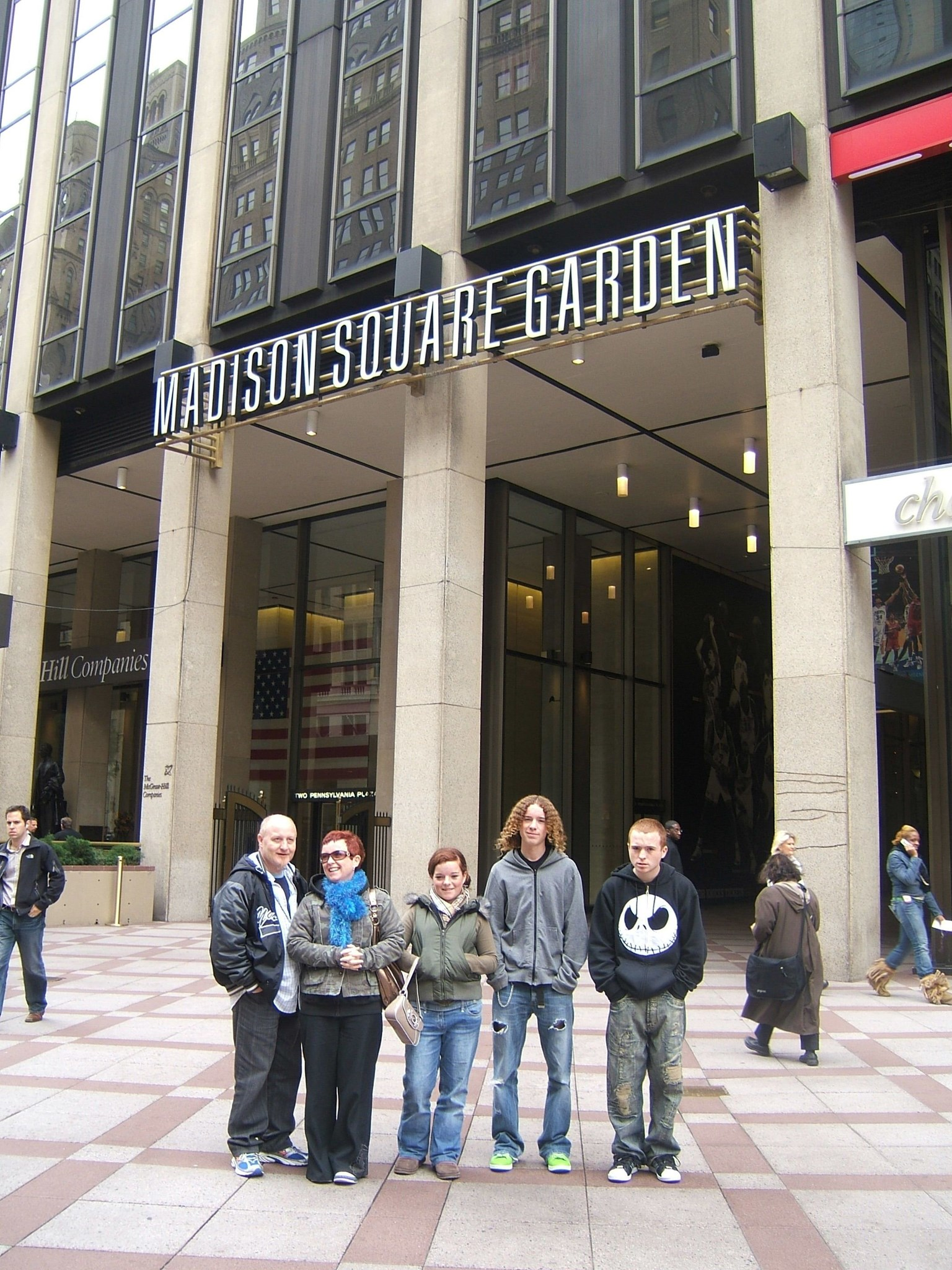 Madison Square Garden   October 2006