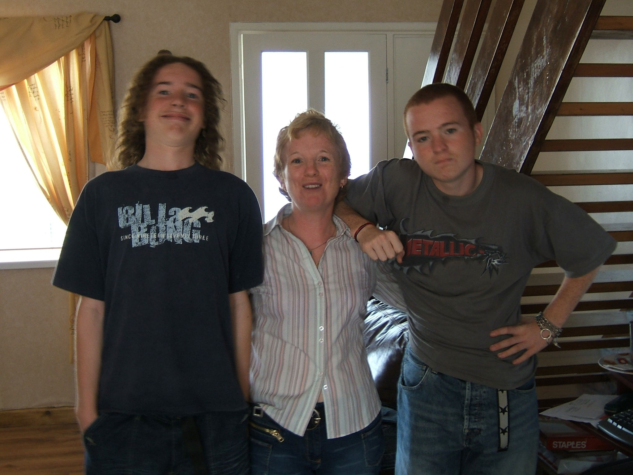 Mum & Her Little Boys   September 2005