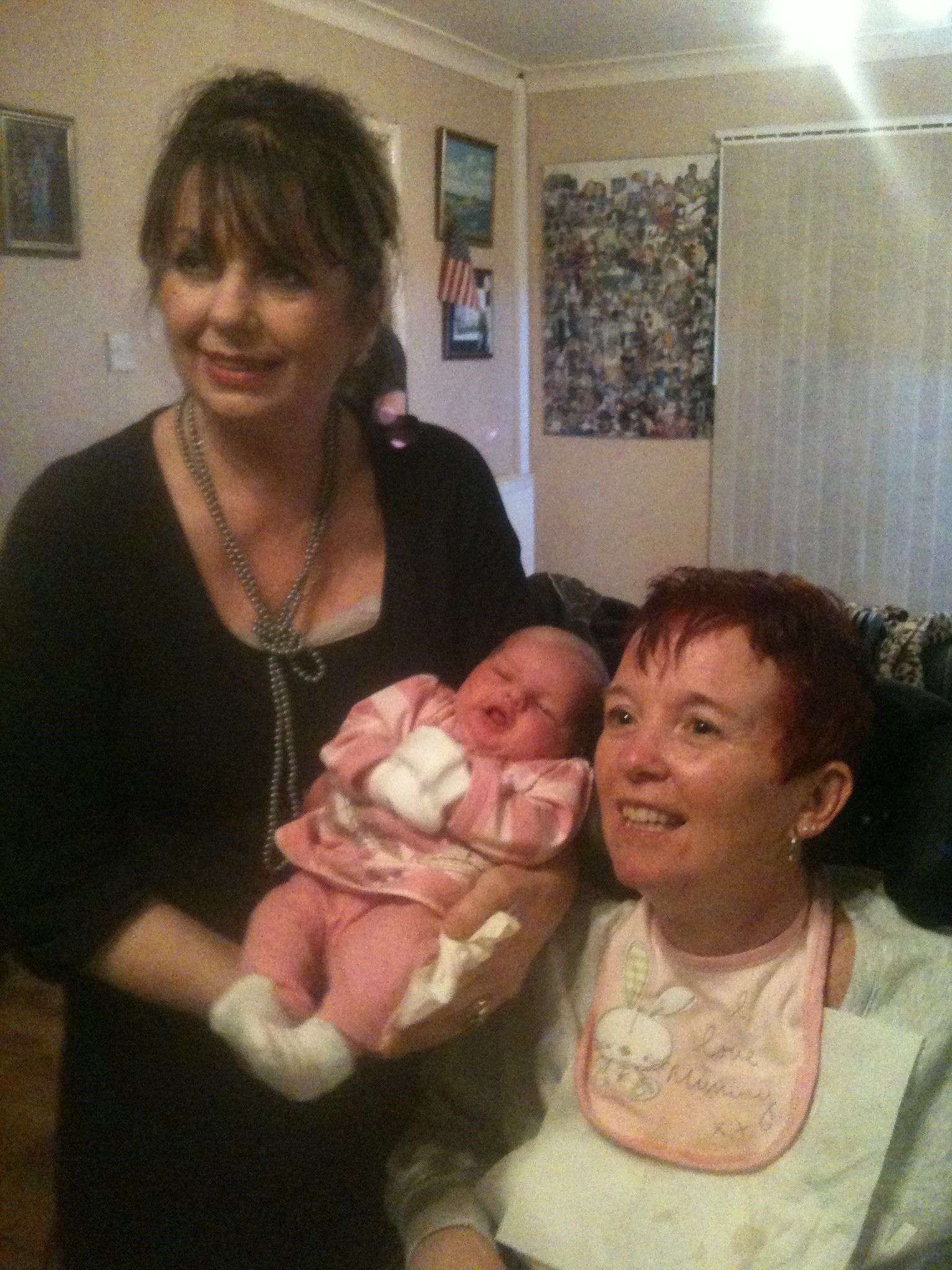 Nanna Carol & Great Nanna Margaret With Baby   November 2010