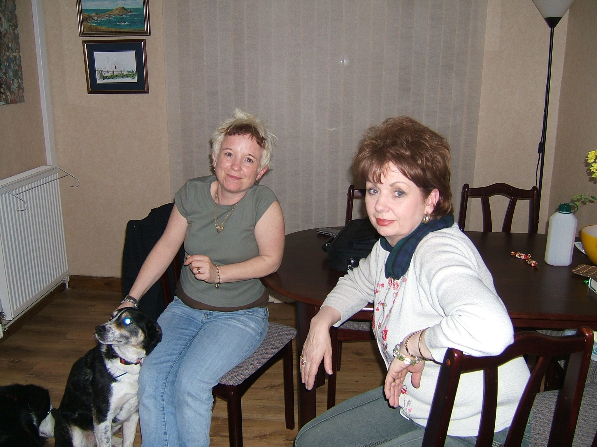 Carol & Margaret March 2006   Blonde This Time!!