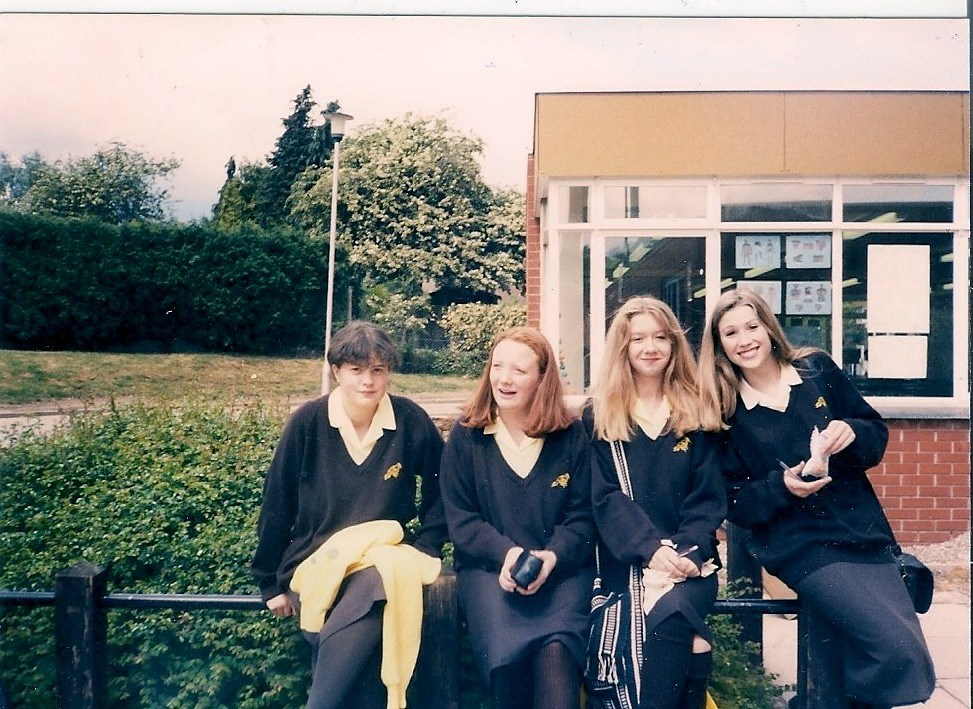 Emma, Louise, Jess and Tanya - end of year pics.