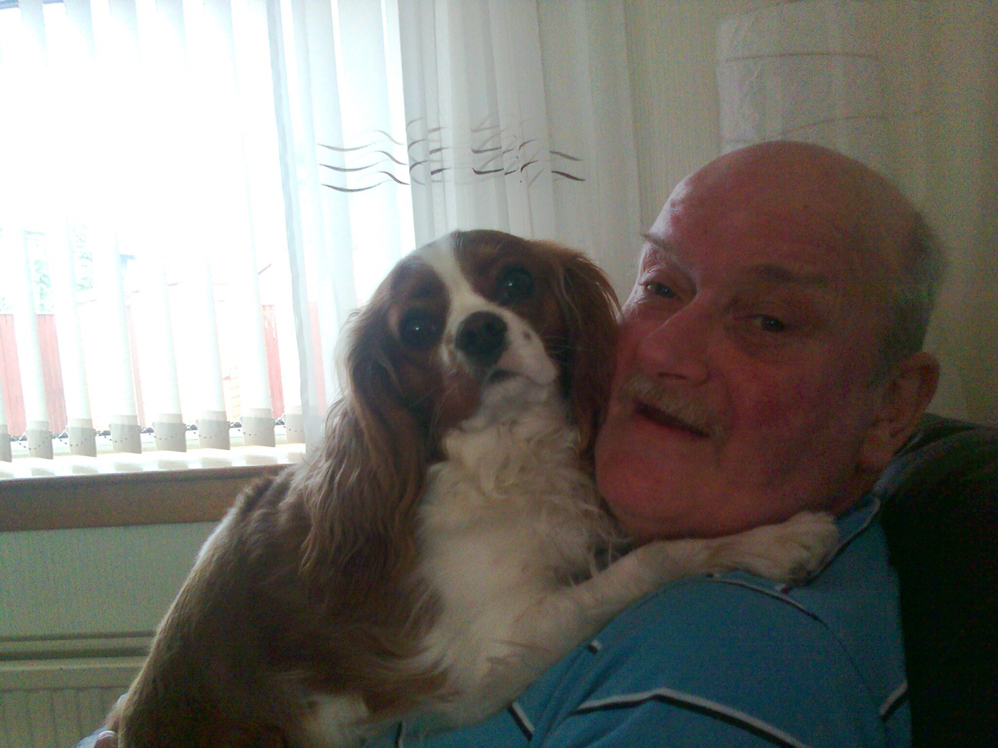 my father at his happiest with his baby  kandie x