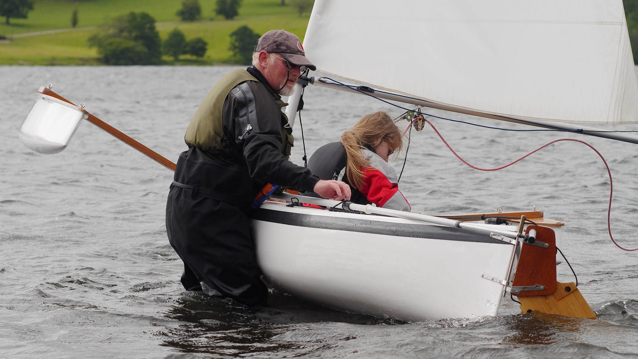 Inspiring the next generation - Ullswater 2015
