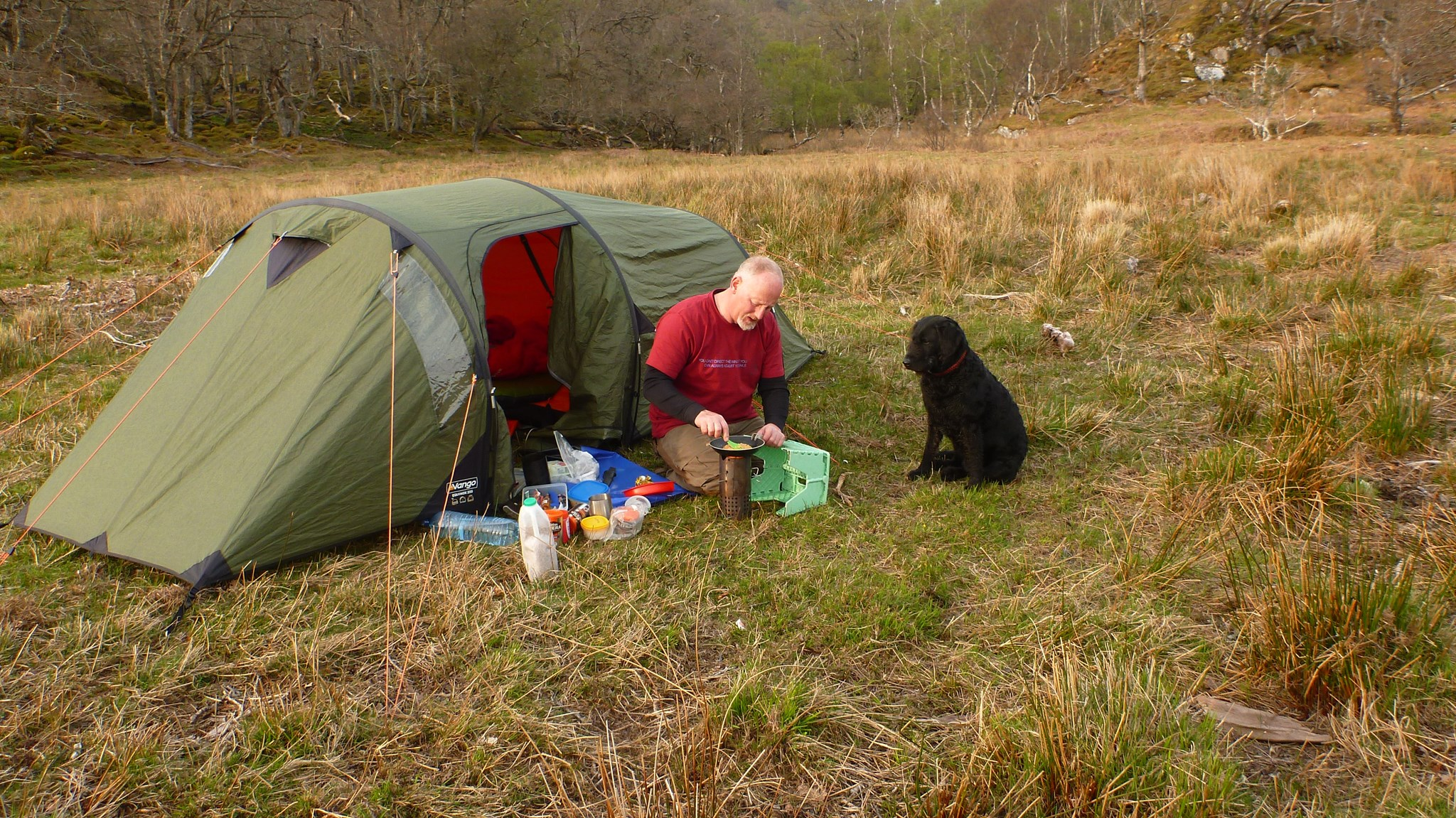 Nora and Graham, Loch Shiel 2014