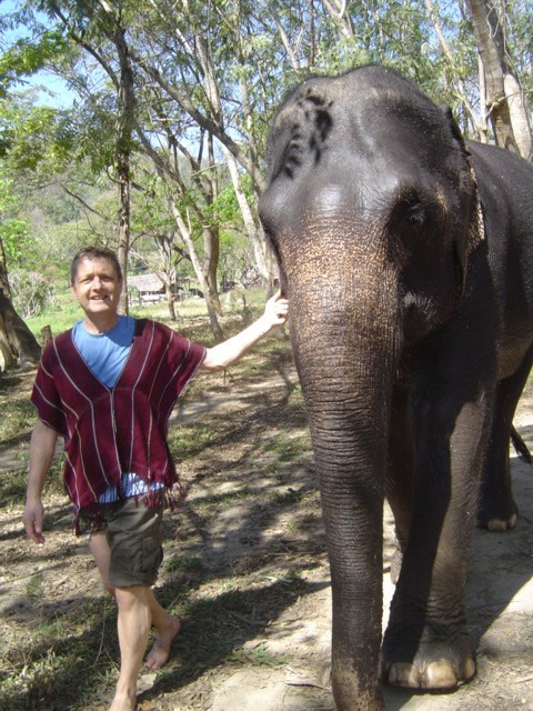 Discovering Thailand - Chang Mai - Elephant Sanctuary - 2010