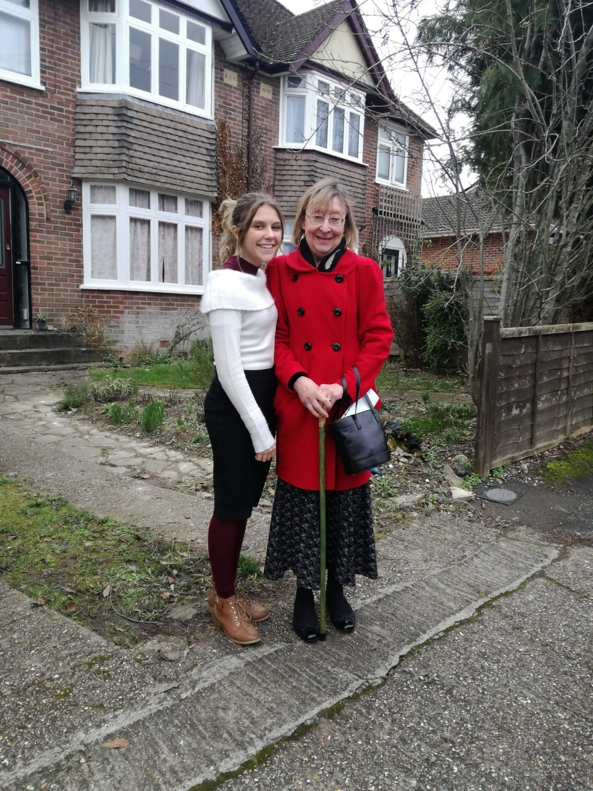 This a picture from Donna, it's Bernadette with her daughter Molly.