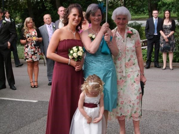 Four Generations - Christine, Her Mother Alice, Daughter Jayne and eldest Grand-Daughter Abbie