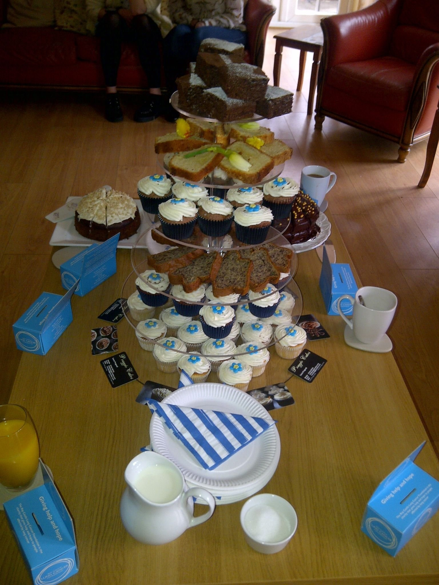 Thank you to everyone for making, baking and eating the cakes at last years coffee morning.