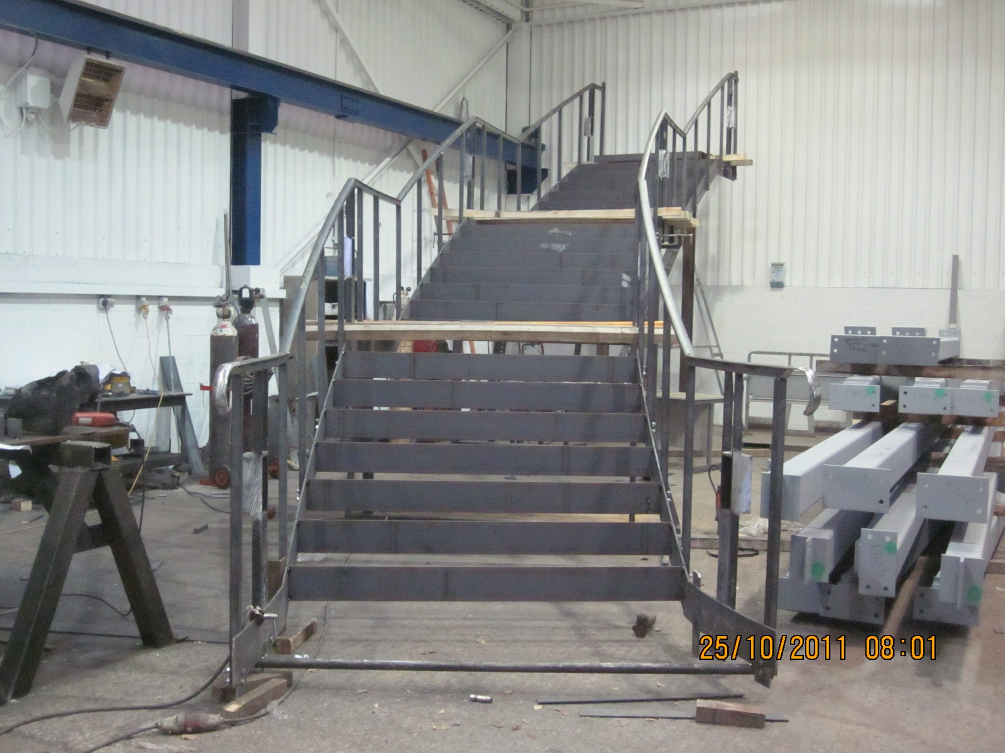 The finished staircase