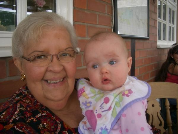 Doreen with her Grand daughter, Madeline