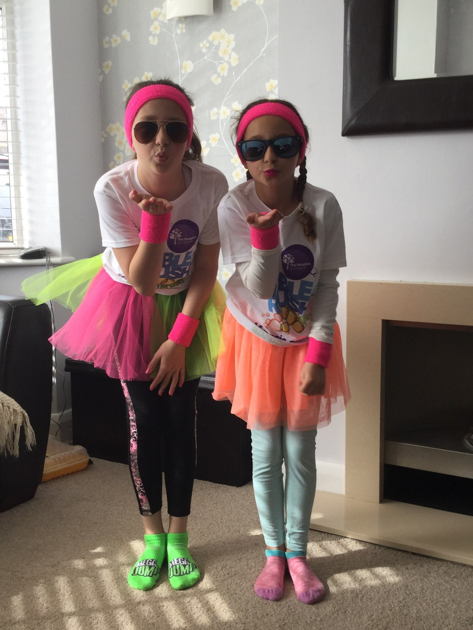 We are running the bubble run for you bumps xx
