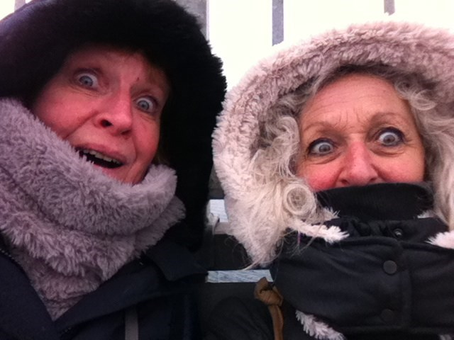 Feeling the cold in Norway