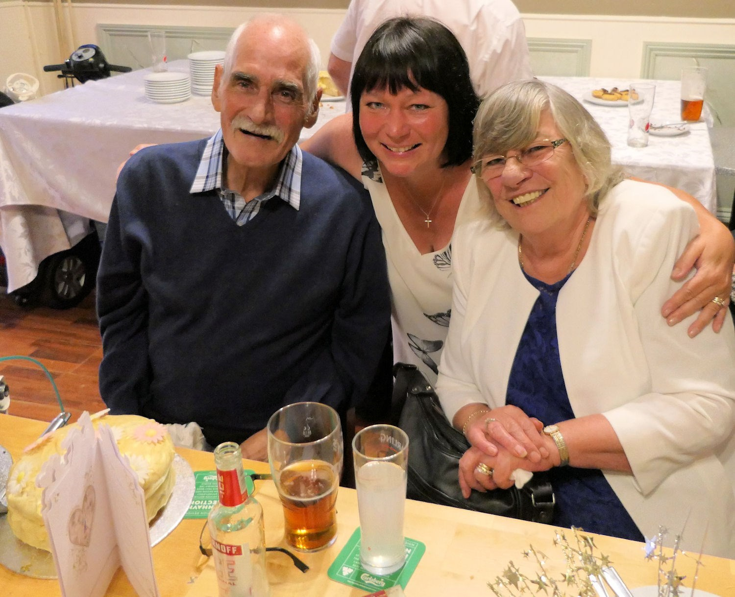 Malcolm's 70th Birthday Party. Louth Hotel Mablethorpe.