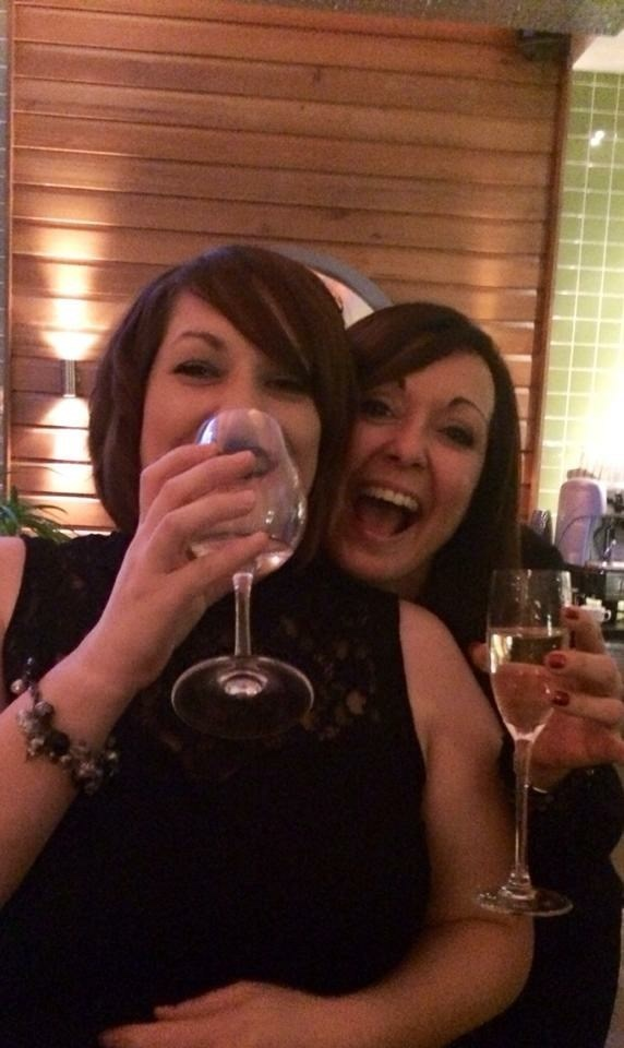 Always the party animal at an MSC do! X