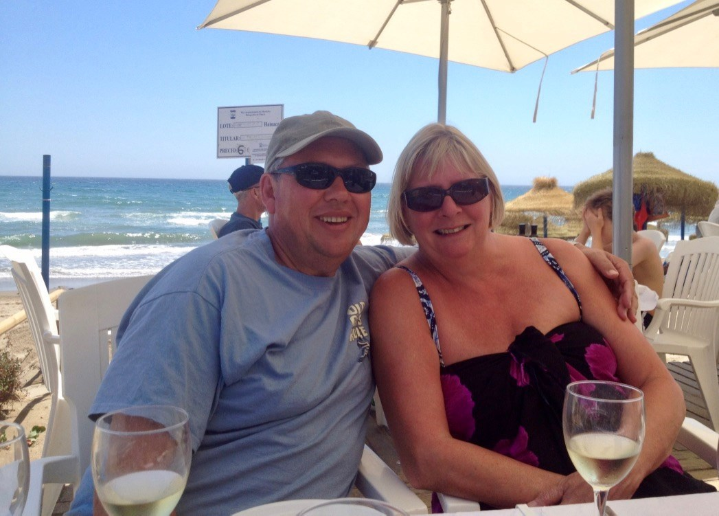 Marbella 2014. Lazy beach lunch until 'bucket of Gin o'clock' round the pool...xxx