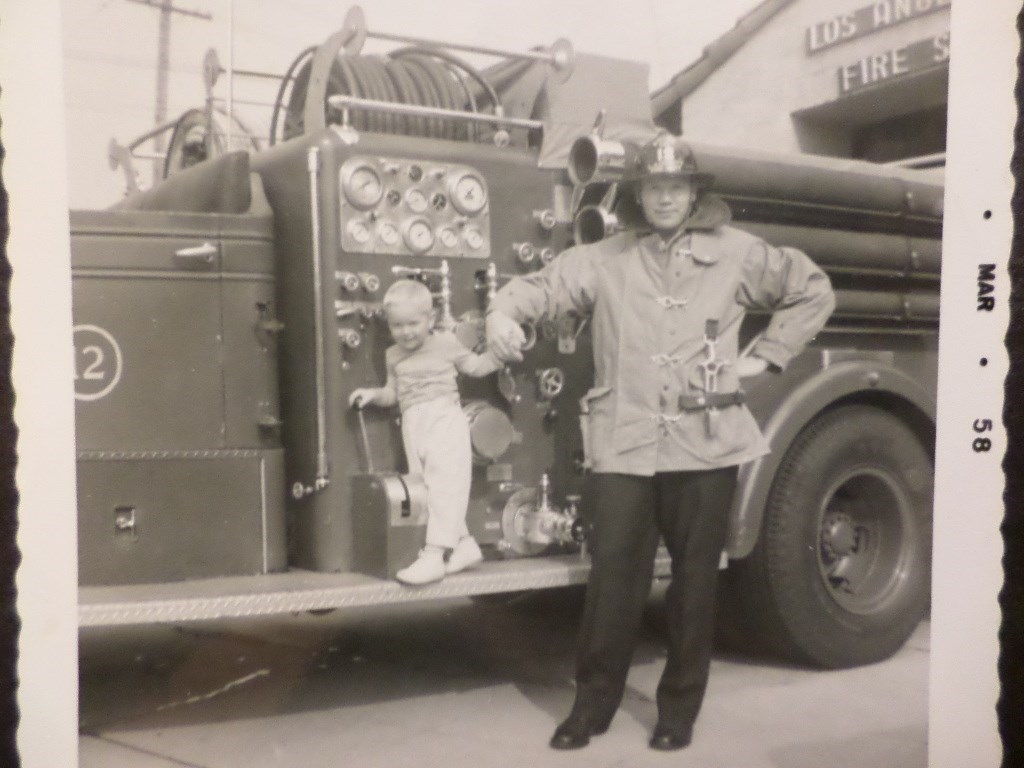 Father & Son - L.A. Fire Dept
