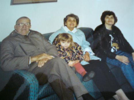 Grandad, Me, Nan and Mum