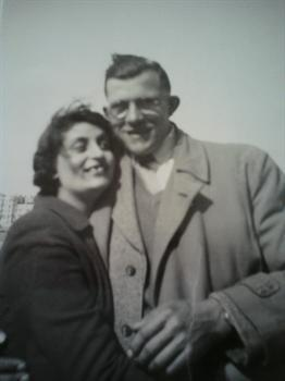 Nan and Grandad at Brighton