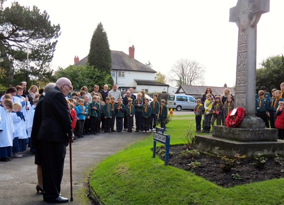 Remembrance Day, St. John the Divine, Brooklands