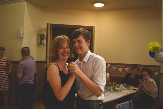 Strictly come dancing with my mum...