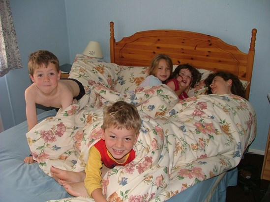 there were 5 in the bed and the little one said....(holiday in Scotland)