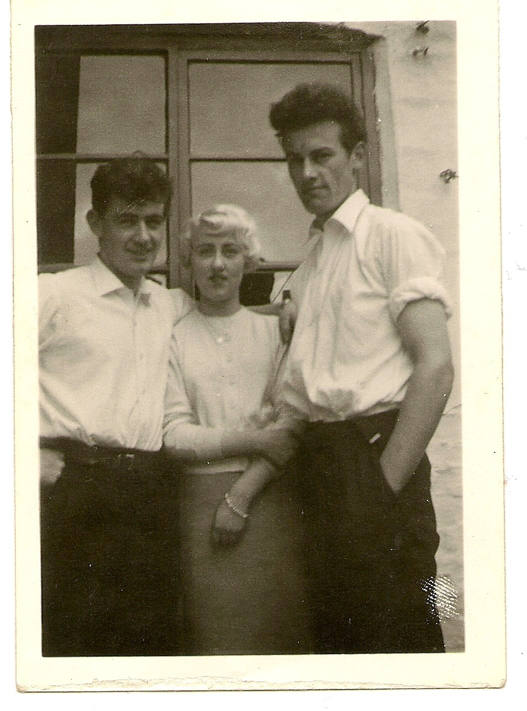 JOHN WITH SISTER IDA AND BROTHER BRIAN
