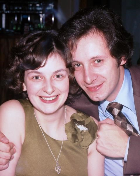 Gill and Roger - c1974