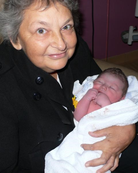 Gill with Isla - 27th Oct. 2011