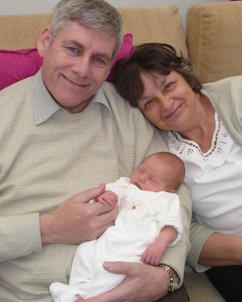 Gill, Andrew and Amelia - May 2010