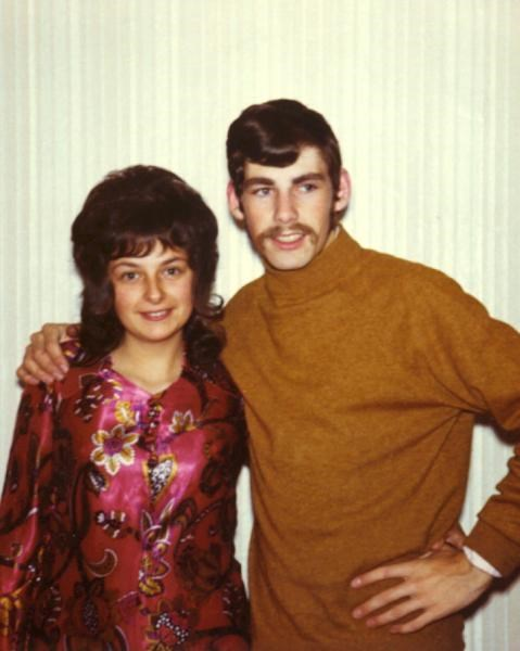 Gill & Andrew fab groovy - c1972