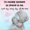 missing someone special to me