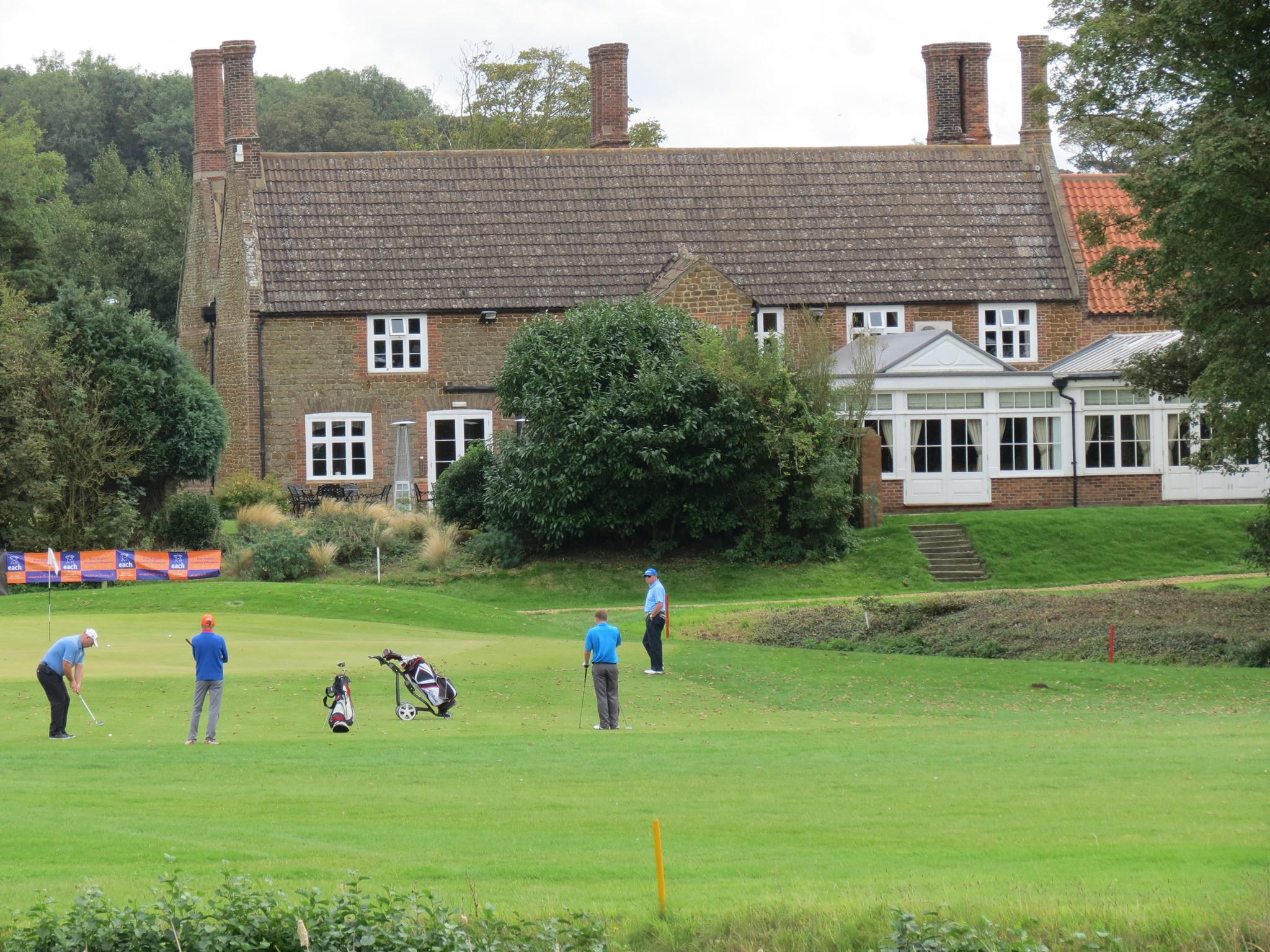 15th green, ntp and par 3 challenge, nights dinner b&b curtesy of knights hill hotel