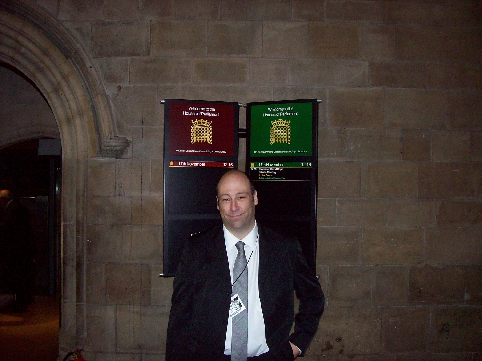 Mr Ryder @ The House of Commons 18.11.2009
