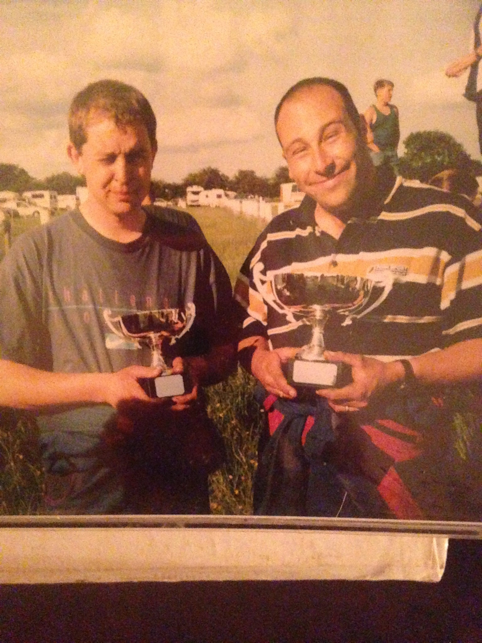 Anthony and sean with there MAP Open trophies 1998