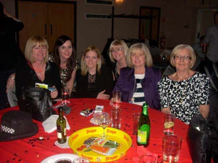 Janet, Lauren, Stacey, Tina, Ruth and Gail