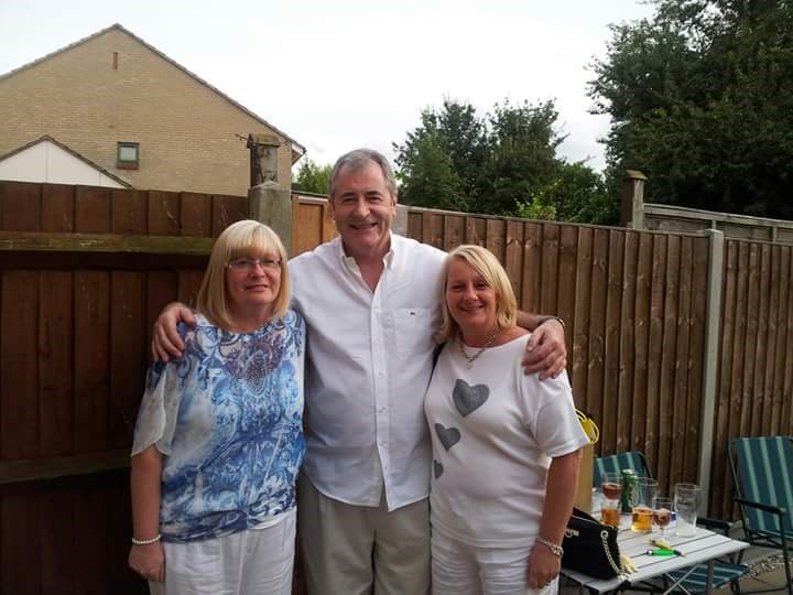 Tina's 50th, with Don and Shirley.