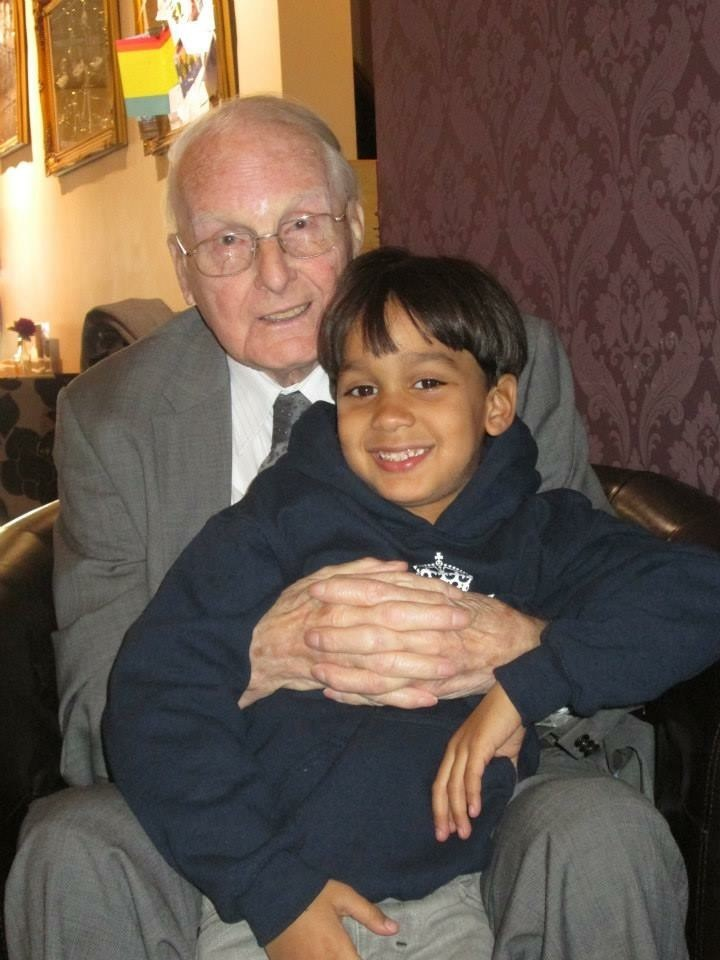 Igor and Great grandad... forever loved x