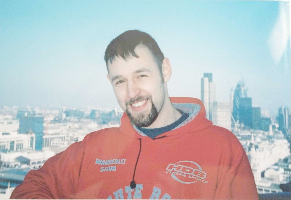 Michael atop St. Paul's Cathedral in 2002. He was helping me with an architecture module for Uni.
